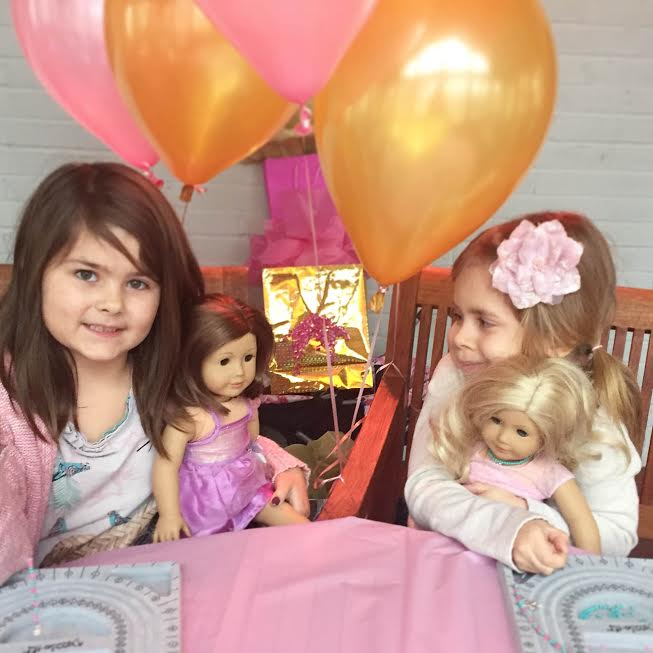 Oakville Ontario Girl`s American Girl Birthday Party