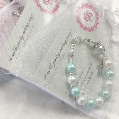 Toronto First communion event entertainment Rosary Bracelet Craft Workshop First Communion