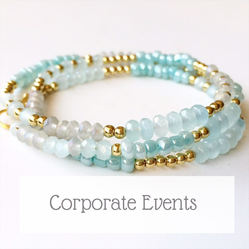 jewellery making corporate events