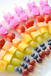 Toronto girls birthday party fruit kabobos