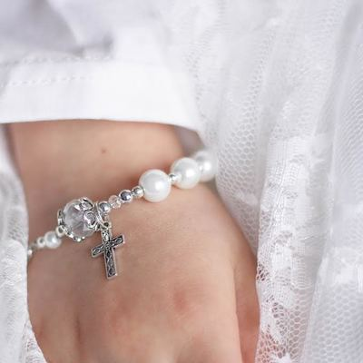 Vaughan First communion event entertainment Rosary Bracelet Craft Workshop