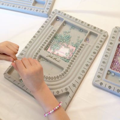 Jewelry Making American Girl birthday party in Burlington