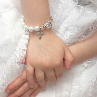 Vaughan Rosary Bracelet Craft Workshop First Communion